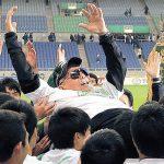 静岡学園のベンチにいたサングラスにヒゲのおじいさんは?高校サッカーに場違い感